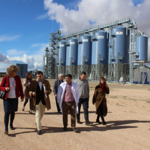 Agricultural Government representative of Ciudad Real visited us
